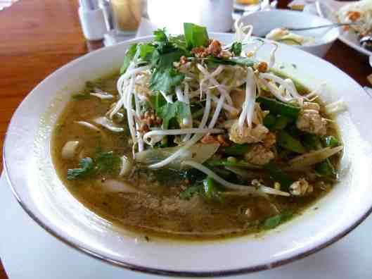 Laksa noodles without milk