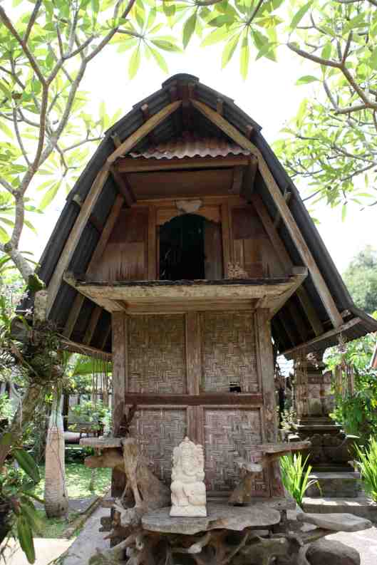 A hut n the compound