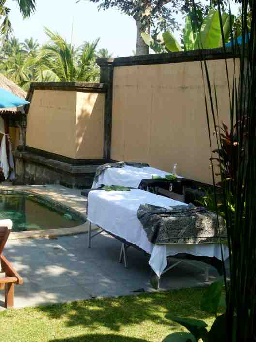 Massage in villa