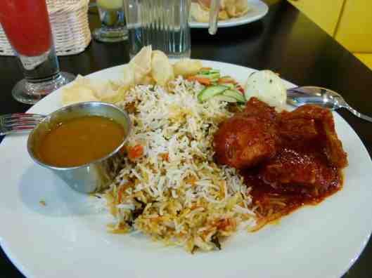 Another variation of briyani rice