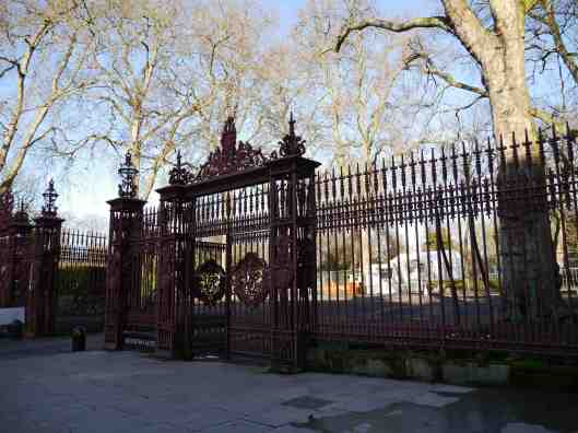 Gate at Hyde Park