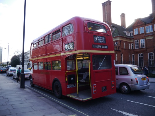 Iconic double decker bus!