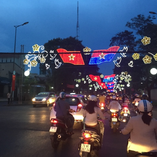 Lightings for Vietnam's independence day