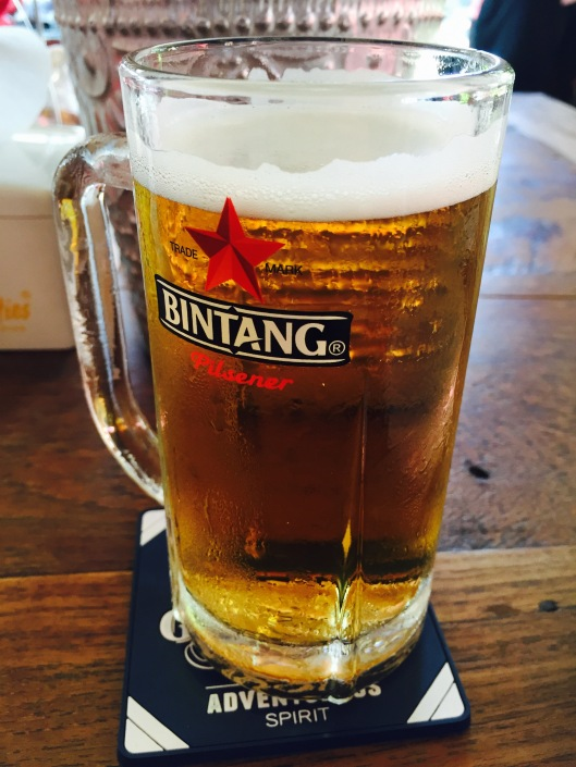 Bintang beer to kick off lunch