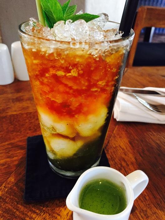 Frozen lychee drink