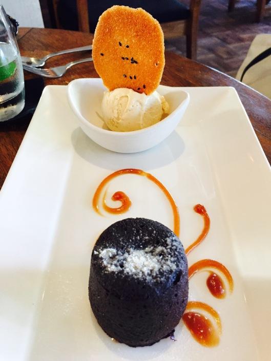 The lava cake!