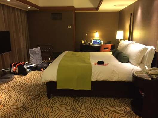 Spacious room at Intercontinental